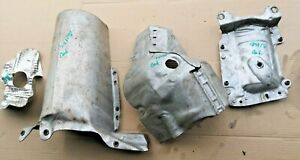CITROEN DS4 2011 1.6 THP 200 TURBO HEAT SHIELD COVER EXHAUST CATALYTIC SET OF 4