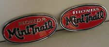 Honda Mini-Trail Z50A K2 Oval Tank Emblems/Badges (set of 2) 1971-1972