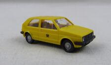 VW Golf II Post gelb Wiking 1:87 H0 ohne OVP [SU2]