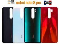 Original vitre arrière cache batterie Xiaomi redmi note 8 pro +adhésif