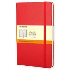 MOLESKINE RED RULED NOTEBOOK LARGE - MOLESKINE - NEW HARDCOVER BOOK