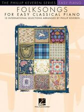 Folksongs for Easy Classical Piano Sheet Music Easy Piano SongBook NEW 000160297
