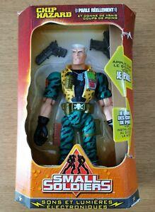 Figurine SMALL SOLDIERS CHIP HAZARD DreamWorks Hasbro 1999 - Boite france  Neuve
