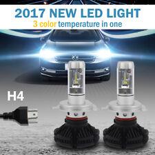Philips H4 12000LM 100W LED Headlight Kit High/Low Beam Bulbs 3000K  6500K 8000K