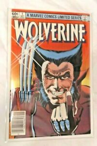 MARVEL COMICS LIMITED SERIES #1, SEPT 1 1982 WOLVERINE COMIC, NEWSTAND, EXCELLEN