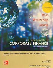 Fundamentals of Corporate Finance Eleventh Edition UL LAFAYETTE
