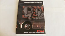 "NEW Tama Drums ""North American Tour 1990"" Catalog"