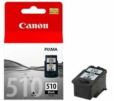 2 X CANON PG510 PG-510 BLACK PIXMA MP272 MP490 MP492 Original Ink Cartridges