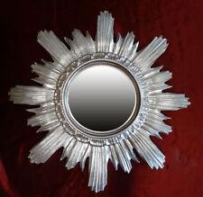 Specchi rotonda in argento per la decorazione della casa
