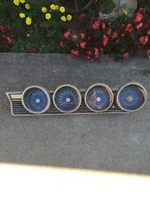 1967 Mercury Comet 2 Door Post Sports Coupe Gauges.
