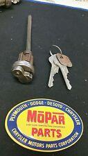 1946 1947 1948 chrysler plymouth dodge desoto nos door lock with key mopar p15