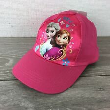 af3003b6 Official Disney Frozen Infant Kids Cap 4 - 8 Yrs Baseball Hat Pink R642-1