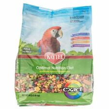New listing Kaytee Exact Rainbow Chunky Parrot Food 4 lbs 100036962