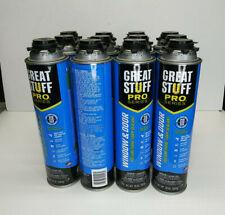 Multi Pack Great Stuff Pro Window Amp Door Insulating Foam Sealant 20 Oz 567 G