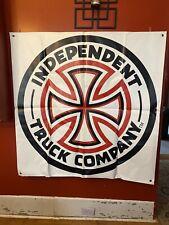 Independent Trucks skateboard Banner 4ft X 4ft