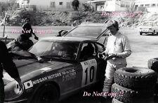 Rauno Aaltonen Datsun 240Z Monte Carlo Rally 1973 Photograph 1