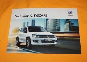 VW Tiguan Cityscape 2014 Prospekt Brochure Catalog Folder Prospetto
