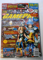 Final Fantasy GamePro 2000 December New Sealed Magazine Spider-Man Comic - BL531
