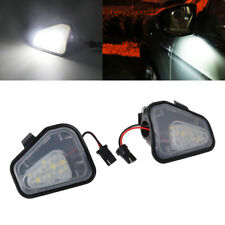 2pcs 18 LED Side Mirror Puddle Light Lamp For VW CC Passat Scirocco White new