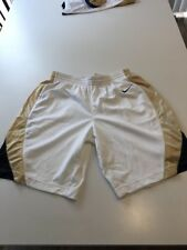Game Worn Used Nike Pittsburgh Panthers Pitt Basketball Shorts Size 42