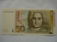 Deutschland  50 DM   1.8. 1991  unc
