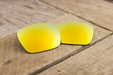 Bright Golded Orange Sun Polarized Mirrored Lenses for Oakley Jupiter Squared