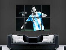 Lionel Messi 10 ARGENTINA CALCIO Legend MAGO Muro Poster Art Print Grande