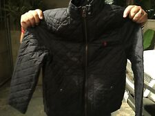 Ralph Lauren BOYS Quilted Jacket Navy SIZE Large 14-16 NEW
