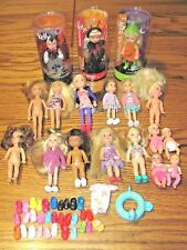 LOT OF BARBIE KELLY DOLLS & VINTAGE KRISSY BABY DOLLS~3 NEW KELLY DOLLS & MORE