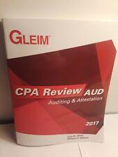 Gleim CPA Review AUD: Auditing & Attestation 2017 Gleim/Hillison Textbook