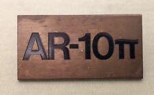 Original Vintage AR-10pi AR10pi Speaker Badge Acoustic Research Not A Repro