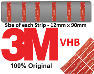 Number Plate Sticky Pads fixings Double Sided Tape Car Number Plate Fixing Tape
