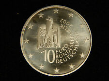2002-A Germany 10 Euro - Berlin Museum - Uncirculated