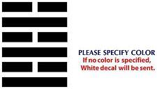 "Arashikage clan GI Joe Game Movie Funny Vinyl Sticker Decal Car Window Wall 7"""