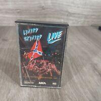 Lynyrd Skynyrd Southern By The Grace of God live RARE PROMO cassette tape