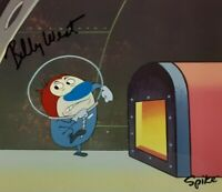 REN & STIMPY ORIGINAL HAND PAINTED PRODUCTION CEL ANIMATION Signed Billy West
