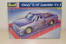 HH 1:25 REVELL KIT CHEVROLET CHEVY S-10 LOWRIDER TRUCK 3'N 1 MINT BOXED SEALED