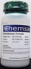 Molybdenum Trioxide, 99.5+% (Trace Metals Basis), 100g