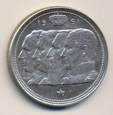 BELGIUM 100fr - silver, 1951, UNC