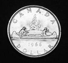 1966 Canadian silver proof like $1 coin that looks great #2