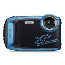Fujifilm FinePix XP140 16.4MP 4K Digital Camera Sky Blue Wi-Fi Bluetooth