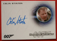 JAMES BOND - Tomorrow Never Dies - COLIN STINTON, Dr Greenwalt, Autograph - A239