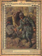 Uniforme Uniform Poilus Tranchée des Feldgrauen de Lucien Jonas 1915 WWI