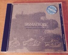 Sigmatropic - Sixteen Haiku & Other Stories - Promo CD - Sonic Youth Cat Power