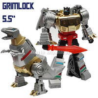 "Pocket Size MFT Robot G1 Mechine Dinosaur Dinobots Grimlock 5.5"" Action Figure"