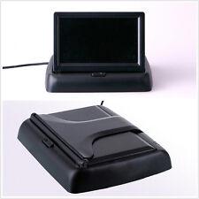 "Foldable 4.3"" SUV Reversing Parking Digital LCD Color Monitor Screen Display"