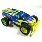 Vintage 1996 XRC Racing Jam-cam 2 49 Hasbro RC Car Racing Blue Green