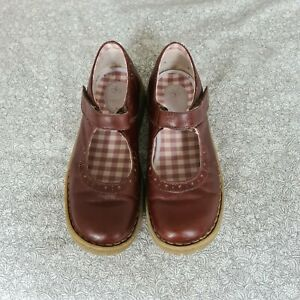 Dr Martens Vintage Brown Mary Jane Womens Size Uk 5
