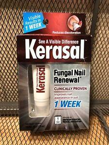 NEW KERASAL Fungal Nail Renewal Cream Tube 10mL .33 oz NIB  #1613 1 WEEK RESULTS