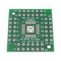 10Pcs QFN44 QFP48 QFP44 PQFP LQFP Turn to DIP SMD Adapter to DIP48 Board